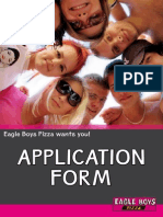 Eagle Boys Application-Form Template