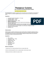 Thanjavur Tradition Food