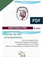 NIIF Sección 20 PDF