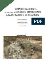 05 - Desarrollo Global de QAQC - J Bonilla - S Collipal - Kinross