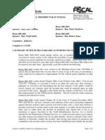 Michigan House Bills 4402-4405 Legislative Analysis - Proposes Abolishment of Juvenile Life Without Parole Sentences