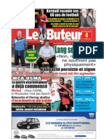LE BUTEUR PDF du 04/10/2009