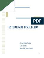 Estudios de Disolucion