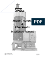 Clayton - I&O Manual - E Series Steam Generator&Fluid Heater - R16600P