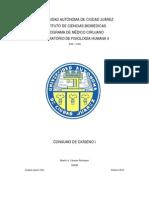 Fisiologia Humana II Practica #2 Consumo de O2 1. Beatriz a. Cazares