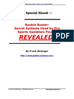 BOOKING BUSTER - Sports Betting System