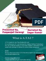 Presented by, Puspanjali Sarangi