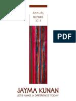 JaymaKunan_ANNUAL REPORT_2013.pdf