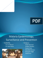 Malaria Epidemiology & Prevention