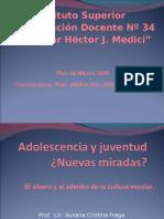 Adolescencia Juventud y Violencia