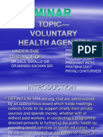 Voluntary Health Agencies