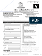 Blue Card Volunteer Form