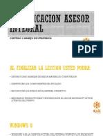 Certificacion Asesor Integral Modulo 1 Sistema Operativo