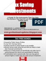 117029 60910 Tax Saving Investments