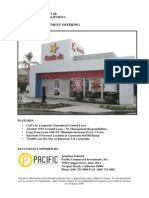 BR - Santa Fe Springs - Carl's Jr Ground Lease