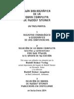 Guia Bibliografica de La Obra de Rudolf Steiner