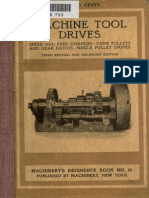 Machine Tool Drives