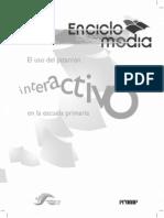 Pizarrón interactivo primaria
