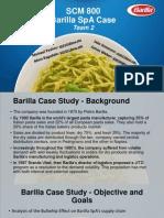 -Barilla Spa Case