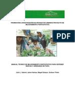 Manual tecnico de mejoramiento participativo para obtener nuevas variedades de papa