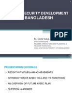 Aviation Security Development in Bangladesh for Mopsp