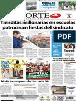 Periódico Norte edición impresa día 9 de febrero 2014