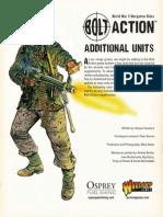 Bolt Action Additional Units