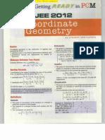 IIT JEE Geometry