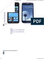 Comparing Samsung ATIV S Vs