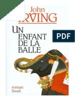 John Irving - Un Enfant de La Balle