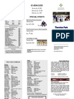 Thornton Park Ice Schedule