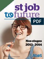Atos Book de Stage Brochure