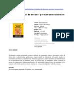 Dictionar Medical German