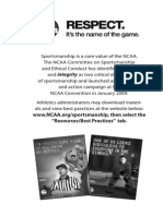NCAA Track and Field Rules 2014