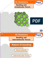 bonding and intermolecular forces