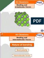 bonding and intermolecular forces