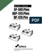 Aitecs 10S 12S Pro Operators Manual