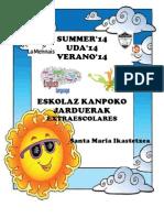 R4 - Propuesta Conjunta Verano 2013-14