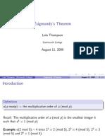 Zsigmondy Theorem Proof (1)