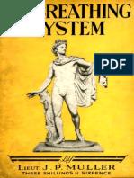 Muller J. P. -  My Breathing System. - 1927.pdf