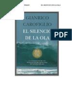 Carofiglio, Gianrico - El Silencio de Las Olas