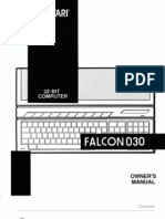 Atari Falcon030 Owners Manual