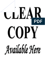 Clear Copy