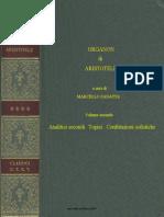 Aristotele,Organon,Vol.ii,Torino,1996.