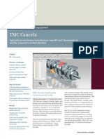 Siemens PLM TMC Cancela Cs Z3