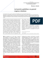 Scandinavian Clinical Practice Guidelines on General