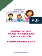 Lacarpetadeolgaejerciciosatencin Adolescentes I (Recomendable)