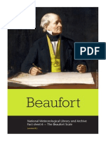 National Meteorological Library and Archive Fact sheet  6 — The Beaufort Scale