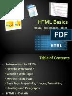 HTML CSS JavaScript Basics