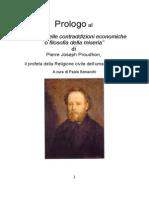 Proudhon Prolo Go Filo Sofia Miseria